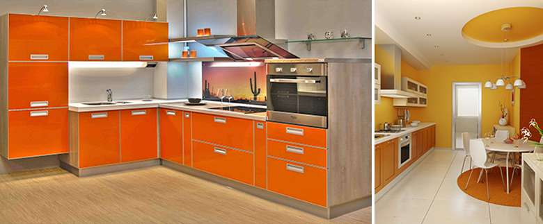 Оранжевая кухня в Минске, meko.by