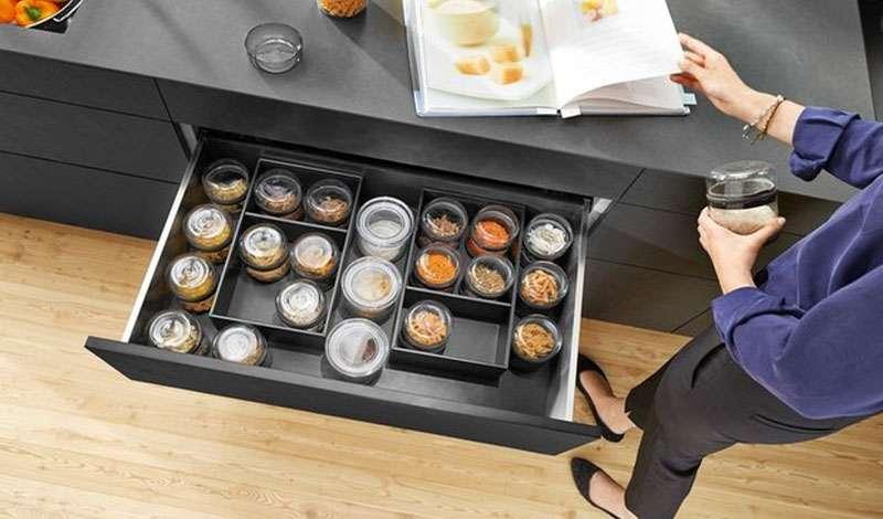 Система организации пространства в ящиках