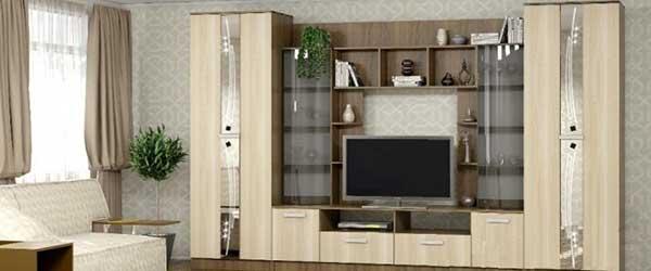 мебель из лдсп для гостиной